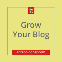 This is the cover photo of the pinboard Grow Your Blog Cover Photos, Blog