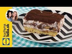 Recept na zmrzlinové tiramisu 🍰 | Kuchyňa Lidla - YouTube Lidl, Tiramisu, Ethnic Recipes, Youtube, Food, Essen, Meals, Tiramisu Cake, Youtubers