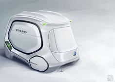 BeeHive Concept Intelligent Truck Rental System by Yuhan Zhang