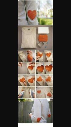 Kıyafetlerinize renk katmak istiyorsanız size kolay bir yöntem.:-)