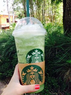 Green tea fraps are my 1 must order drinks! Ugh! Love them...