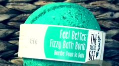Pepperminty and fresh! Best Bath Bombs, Fizzy Bath Bombs, Eucalyptus Oil, Bath Fizzies, Sweet Almond Oil, Tea Tree, Feel Better, Peppermint, Essential Oils