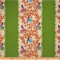 Echino Fall 2010 Cotton/Linen Blend Canvas Perch Green $19.98/yd