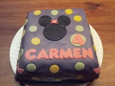 Minie mouse taart voor Carmen