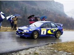 The Subaru Impreza Number 4 driven by Piero Liatti and Fabrizia Pons to win the 1997 Monte Carlo Rally. Subaru Impreza Wrc, Wrx, Monte Carlo Rally, Monaco Grand Prix, Car Set, Car Travel, Rally Car, Amazing Cars, Automobile