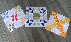 Tutorials for 18 different quilt blocks - Skill Builder Sampler