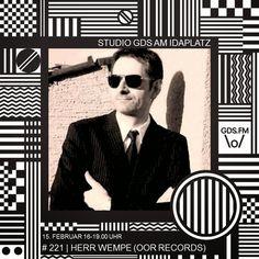 Herr Wempe a/k/a DJ Soulsonic: Herr Wempe im Studio GDS