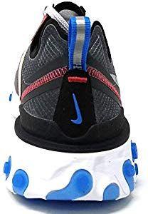 watch 1b595 07e25 Nike React Element 87 - Darke Grey Pure Platinum Trainer Size 7 UK  Amazon