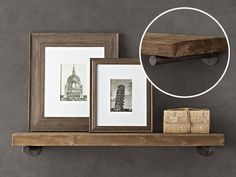 Restoration Hardware Inspiration / 7thhouseontheleft.com   Love these shelves!