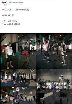 #CrossFitGrenoble #CrossFit #Wod