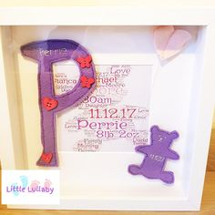 Items similar to New Baby Box Frame on Etsy Baby Box, Box Frames, Family Love, New Baby Products, My Etsy Shop, Symbols, Letters, Check, Design