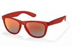Ochelari de soare unisex Polaroid P8443F Red