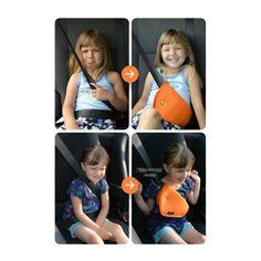 Çocuğunuzu korumak için taktığınız emniyet kemeri onu rahatsız etmesin!