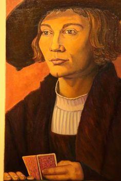 Interpretación de Retrato de Bernard von Resten-Durero Mona Lisa, Artwork, Portraits, Work Of Art, Auguste Rodin Artwork, Artworks, Illustrators