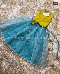 Baby Girl Dress Design, Girls Frock Design, Kids Frocks Design, Baby Frocks Designs, Kids Dress Wear, Fancy Dress For Kids, Kids Gown, Kids Wear, Indian Dresses For Kids