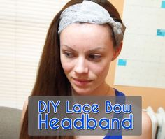 Picture of DIY Lace Bow Headband