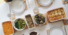A vegetarian (mostly vegan), gluten-free Sunday lunch..