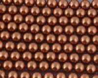 4mm SWAROVSKI® ELEMENTS Copper Crystal Pearl Beads - 50 pearls for jewellery making, beadwork and craft