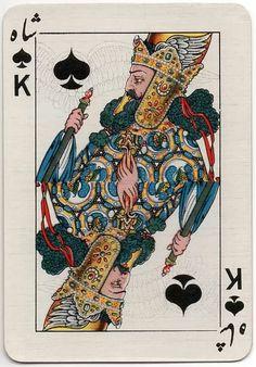 Iranian Cards by V. Romanowski de Boncza