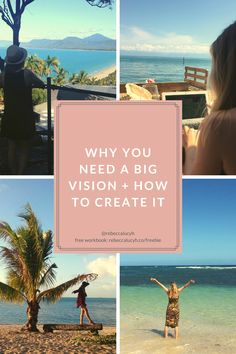 Why you need a big vision for your business + how to create it — Rebecca Hawkes Confidence Coaching, Online Entrepreneur, Digital Nomad, Photography Website, Beautiful Places To Visit, Dream Life, Traveling By Yourself, Social Media, Create