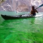 Emerald Cove & Emerald Cave A very scenic Kayak Trip in the Black Canyon