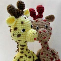 Little Bigfoot Giraffe Amigurumi