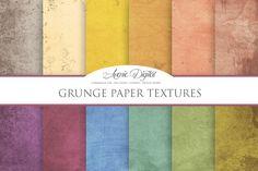 Grunge Paper Textures @adobeResources