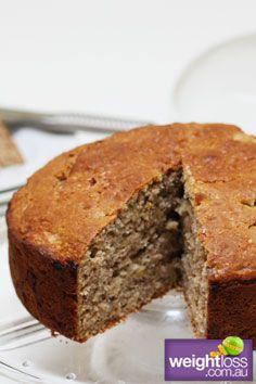 Hummingbird Cake. #HealthyRecipes #DietRecipes #WeightLossRecipes weightloss.com.au