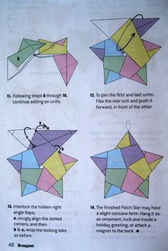 Origami Directions for A Five Pointed Star – Dolce Bellezza