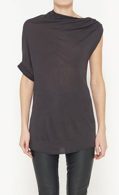 Lanvin Grey Top | VAUNTE size S, $145, down from $750. js