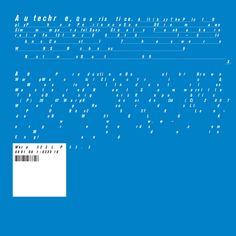 Autechre - Quaristice cover art by tDR