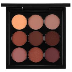 Mac Burgundy    Times Nine Eye Shadow X 9 ($32) ❤ liked on Polyvore featuring beauty products, makeup, eye makeup, eyeshadow, beauty, eyes, fillers, burgundy times nine, mac cosmetics and mac cosmetics eyeshadow