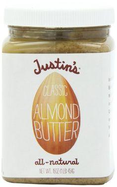 Justin`s Nut Butter Almond Butter, Cl... $8.91 #topseller