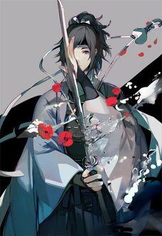 花と水^^ Touken Ranbu