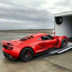Hennessey Venom GT! • Follow @motorworld_247 • • Photo via @fe_motorworks •