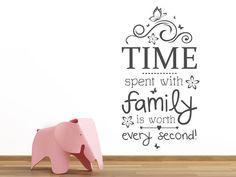 Cute Nicht nur bei Familienmenschen ist das Band der Liebe eine hohes Gut Mit unserem Wandtattoo