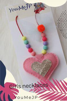 Unique girls necklaces