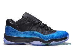 "Air Jordan 11 Retro Low ""Boutique Jordan SIte"" Air jordan 11 Low Coloris: Black/Nightshade/Blue/Noir Style: 528895-033 Date de sortie: 19/04/14"