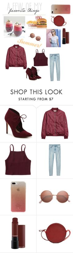 """Favorite Things"" by teal100 ❤ liked on Polyvore featuring ALDO, Aéropostale, Monki, Kate Spade and Diane Von Furstenberg"