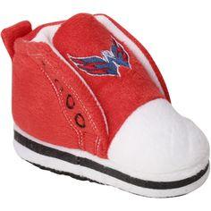 Newborn   Infant Washington Capitals High Top Baby Booties 3cbbab618
