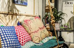 Anthropologie Los Angeles, cushions, home decoration LA style