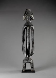 Mumuye peoples TITLE Male Figure, Iagalagana iagalagana DATE 1900–1999 MEDIUM Wood DIMENSIONS 44 3/4 x 9 x 8 3/4 in. (113.7 x 22.9 x 22.2 cm)  MFAH | The Museum of Fine Arts, Houston
