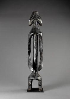 Mumuye peoples TITLE Male Figure, Iagalagana iagalagana DATE 1900–1999 MEDIUM Wood DIMENSIONS 44 3/4 x 9 x 8 3/4 in. (113.7 x 22.9 x 22.2 cm)  MFAH | The Museum of Fine Arts, Houston