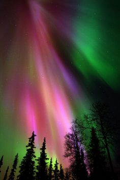 Ahhh...I've always dreamed of traveling to see the northern lights.