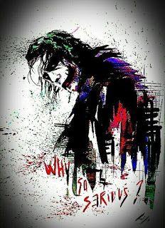 Joker why so serious Art Du Joker, Le Joker Batman, Batman Joker Wallpaper, Joker Iphone Wallpaper, Der Joker, Joker Comic, Heath Ledger Joker, Graffiti Wallpaper, Joker Wallpapers