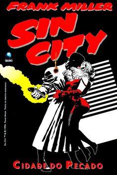 Sin City Comic, Frank Miller Sin City, Anthology Film, Bd Comics, Vector Portrait, Calvin And Hobbes, Anime Fantasy, Dark Horse, Comic Covers