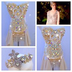 80 Beautiful Great Gatsby Outfit Ideas You'll Love It - Nona Gaya Rave Costumes, Burlesque Costumes, Belly Dance Costumes, Nerd Costumes, 50s Costume, Vampire Costumes, Rave Outfits, Sexy Outfits, Festival Outfits