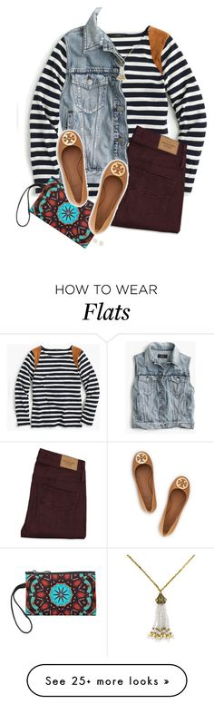 """Untitled #556"" by hayley-tennis on Polyvore featuring J.Crew, Abercrombie & Fitch, BaubleBar, Tory Burch and Kendra Scott"