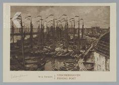 W.B.Tholen 185-1931. Haven Volendam.