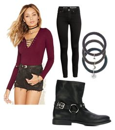 """""""Winter Wearable Grunge"""" by queenkrishidesai on Polyvore featuring Forever 21, Burberry and Accessorize"""